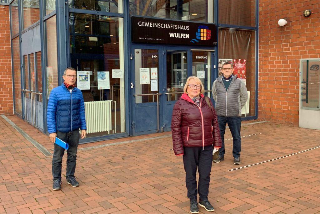 Sind aktiv für das Blaue Kreuz Wulfen im Einsatz: Berthold John, Christa John und Jan Kolloczek.