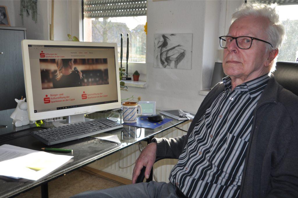 Werner Tischer klagt gegen die Sparkassenstiftung.