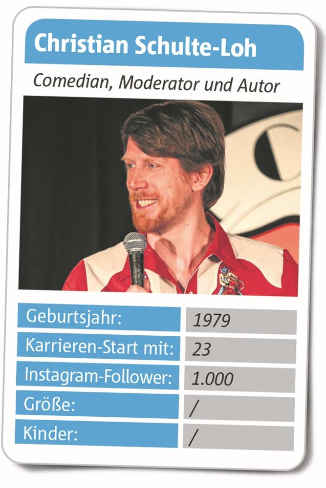 """Christian Schulte-Loh ist bekannt als der """"German Comedian"""" und hat seine Wurzeln in Haltern am See."""