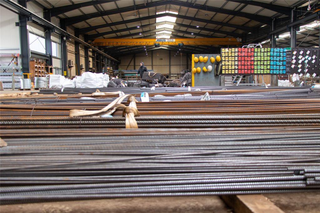 Die Hallen am Produktionsstandort Vreden wurden im vergangenen Jahr noch einmal verdoppelt.