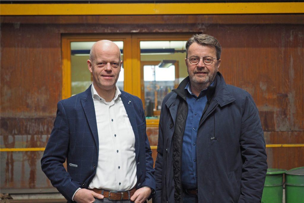 Franz-Wilhelm Frankemölle ist zuständig für den Standort Vreden. Sein Geschäftspartner Josef Blömer organisiert die Abläufe in Dorsten.