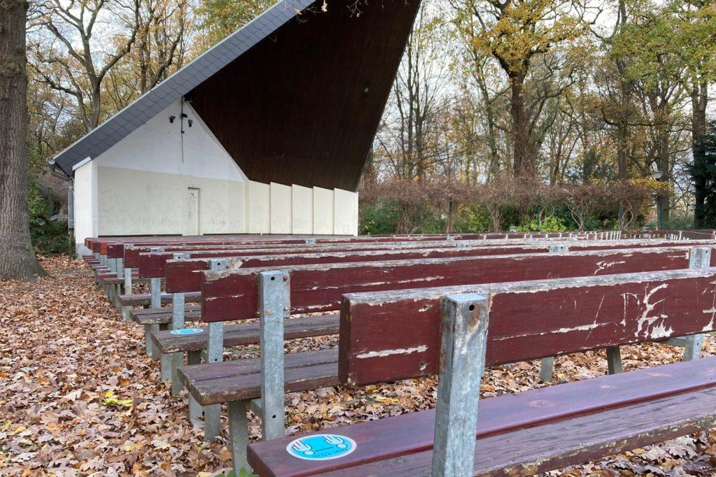 Der Konzertpavillon im Fredenbaum-Park soll überarbeitet werden.
