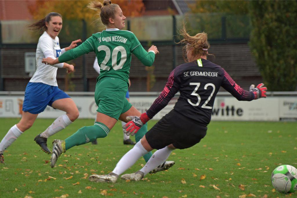 Zuletzt nicht zu stoppen: Charlotte Eismann hat in fünf Ligaspielen schon zehn Tore erzielt.