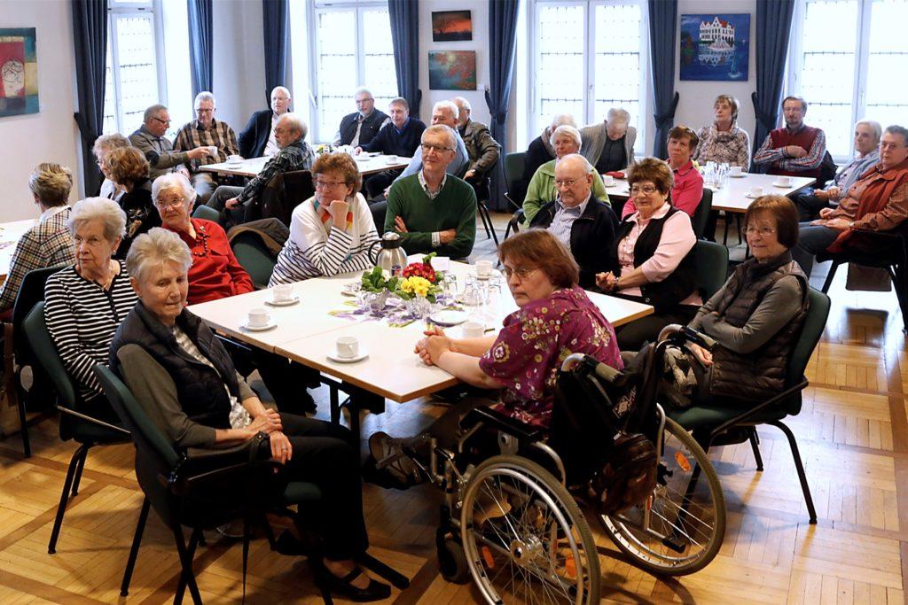 Das Jahreszeitencafé des Seniorenbeirats war immer gut besucht.
