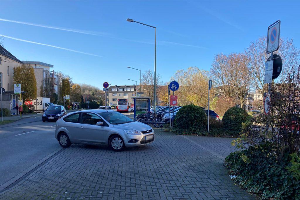 Neue Verkehrsregelung Schulze-Delitzsch-Straße