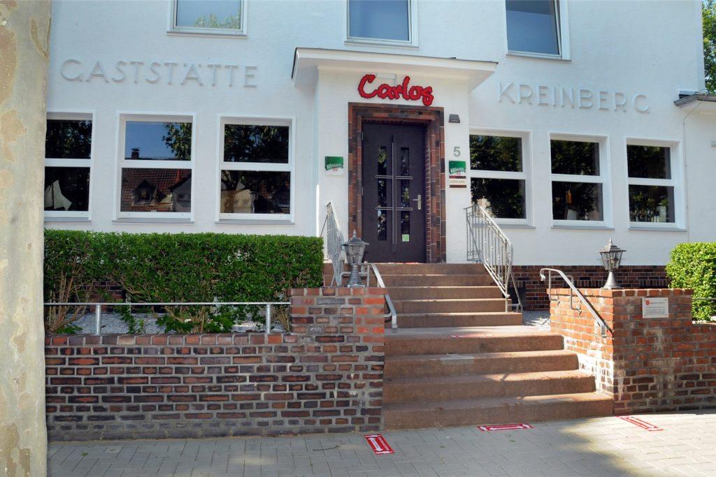 In Schwerte im ehemaligen Haus Kreinberg zog Carlos samt einem Dreimaster 2019 ein und eröffnete sein drittes Lokal.