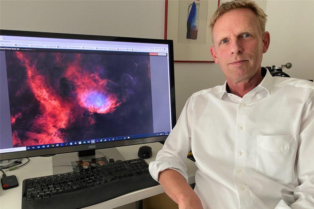 Das Weltall fasziniert den Ascheberger Peter Maasewerd. Vor allem das, was schwer zu fotografieren ist.