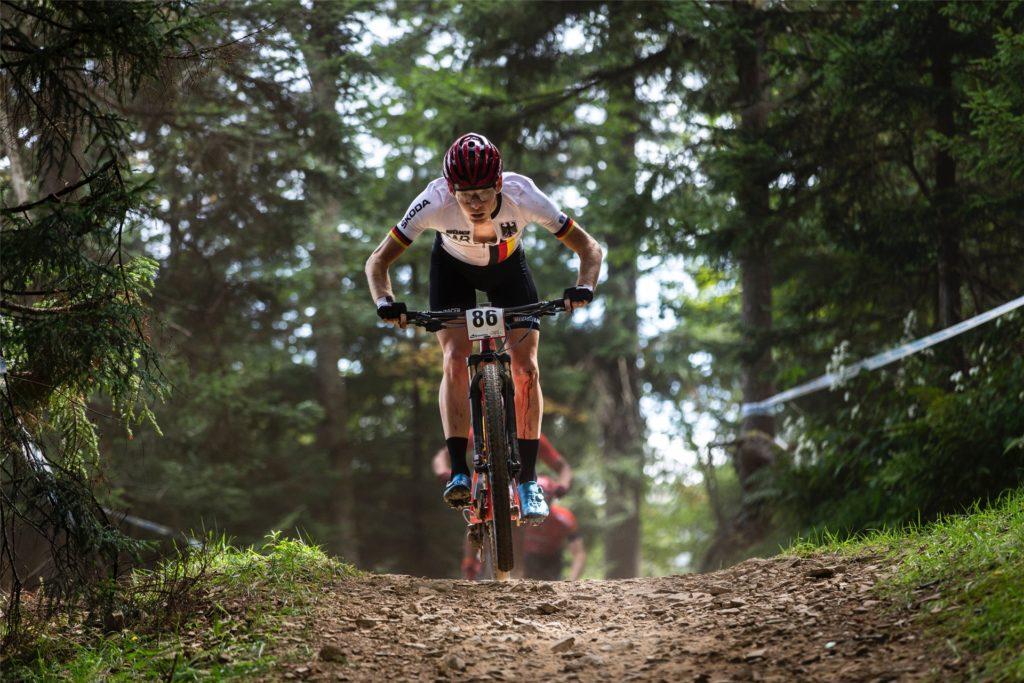 Der Halterner Markus Schulte-Lünzum ist ehemaliger deutscher Meister im Mountainbiken.