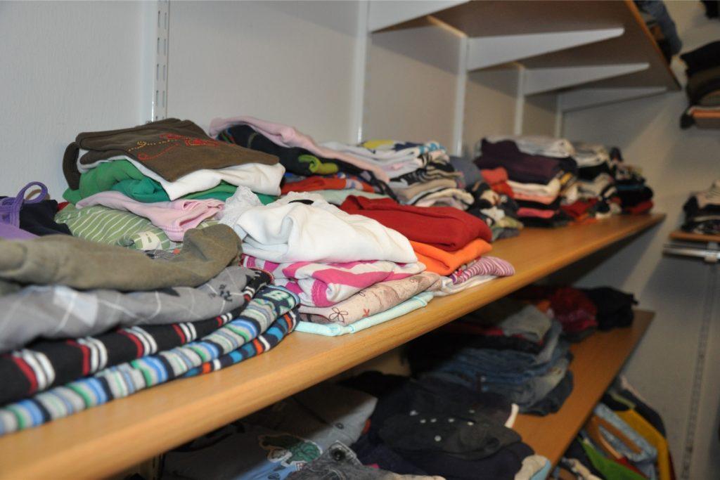Die Kleiderstube des Sozialwerks ist momentan geschlossen.