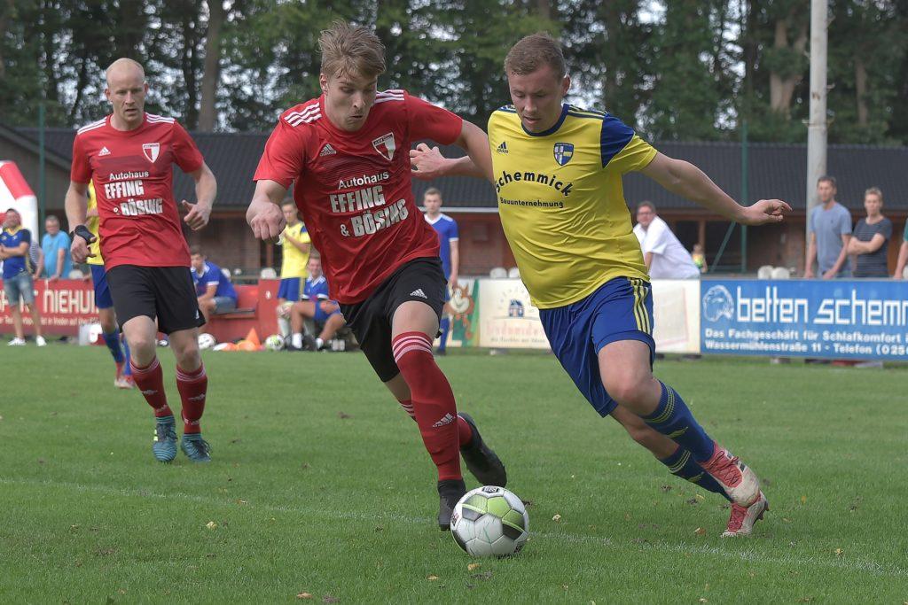 Nach nur einer Saison in Oeding wird Hendrik Brügging ab Sommer wieder das gelbe Trikot der SpVgg überstreifen.