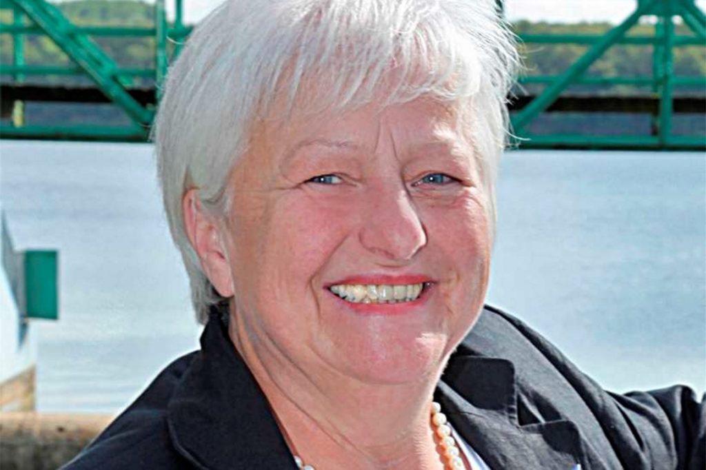 Marlies Breuer, Mitglied im Halterner Stadtrat, fühlt sich von der Broschüre und ihrem Inhalt belästigt.
