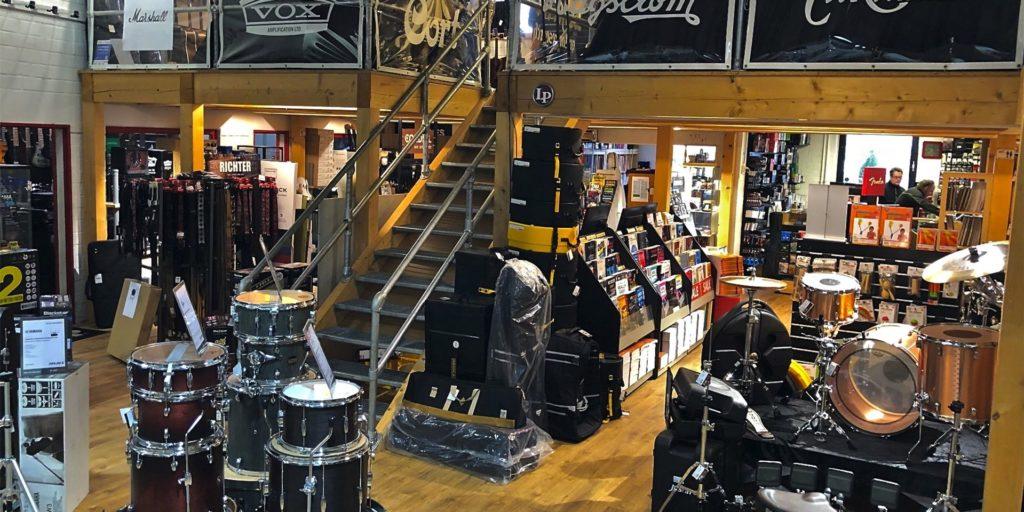 Der Just-Music-Store in Dorstfeld ist nur noch bis Ende März 2021 geöffnet.