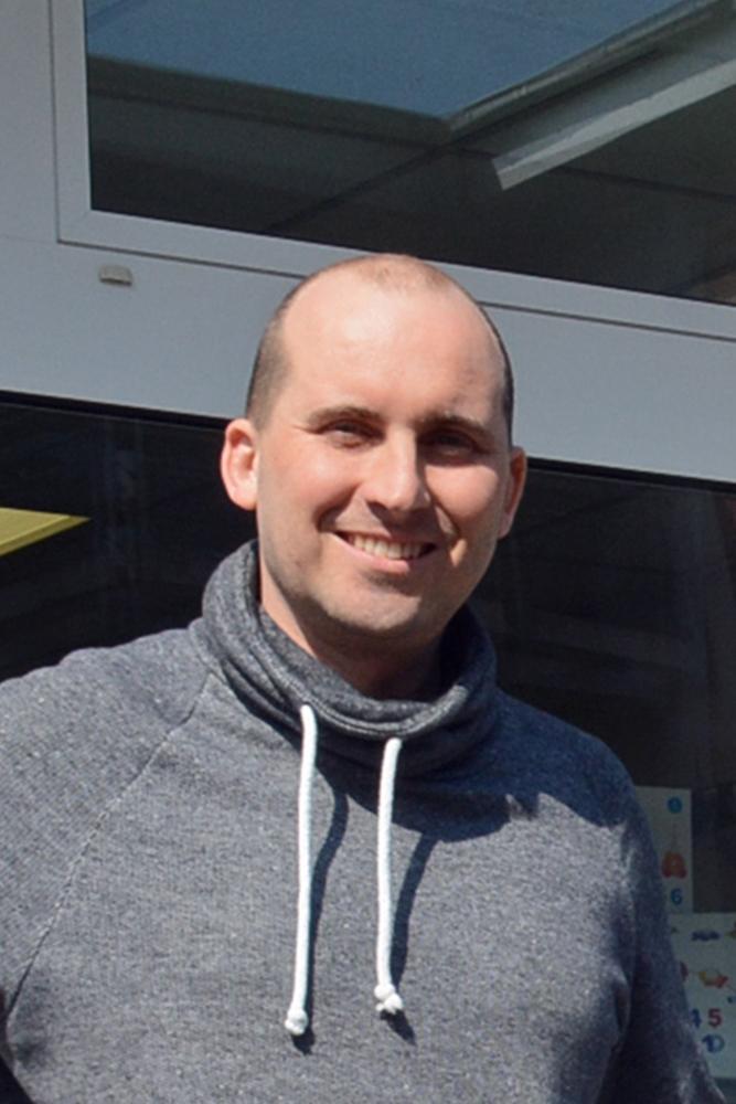 Mirko Bernhardt, Geschäftsführer Trägerverein Hallenbad Wulfen, hat dieser Tage nicht viel zu lachen.