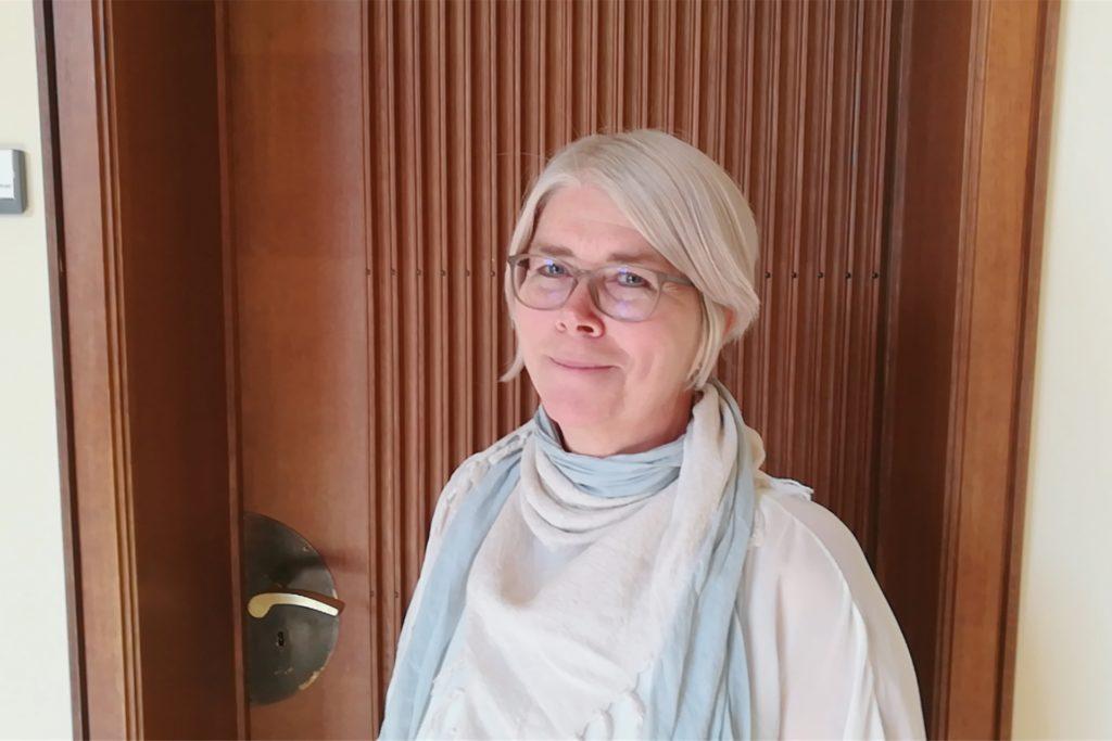 Die Schulleiterin des St.-Ursula-Gymnasiums Elisabeth Schulte Huxel ist froh über den