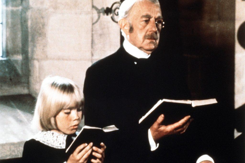 """Früher war er mal niedlich: Ricky Schroder (l.) und Alec Guinness im Film """"Der kleine Lord""""."""