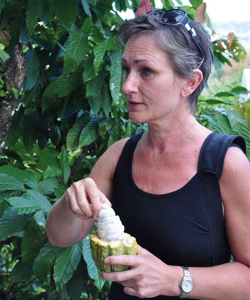 Auf den Reisen nach Südamerika sucht das Ehepaar nach den besten Bohnen und nachhaltigen Bedingungen.