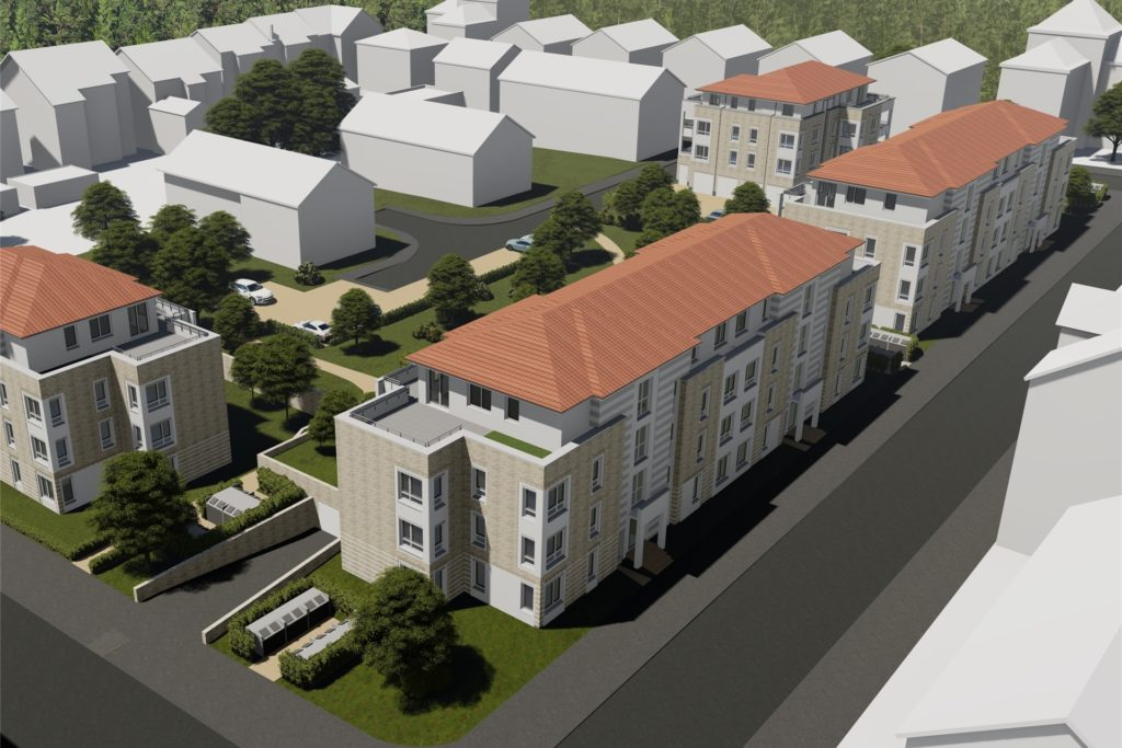 Die Bauzeit für den kompletten Neubau soll fünf Jahre betragen.