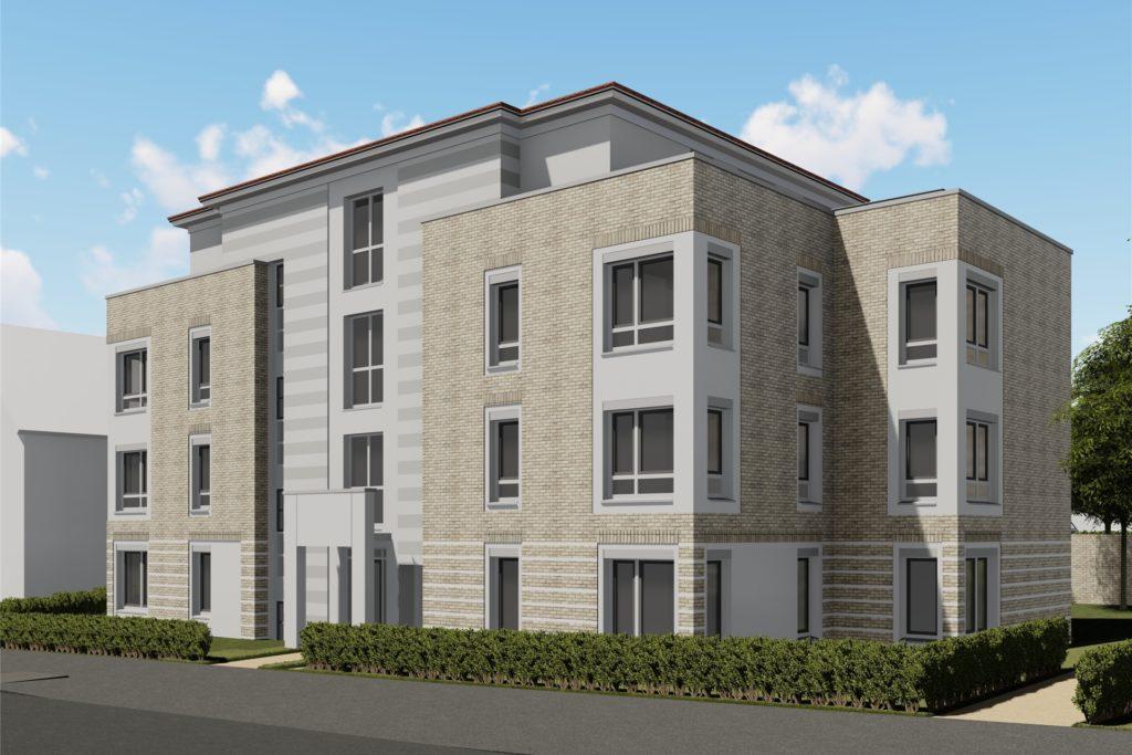Bei dem 1. Bauabschnitt an der Uranusstraße handelt es sich um circa 800 Quadratmeter Wohnfläche. Die Wohnungen sollen Ende 2021 bezugsfertig sein.