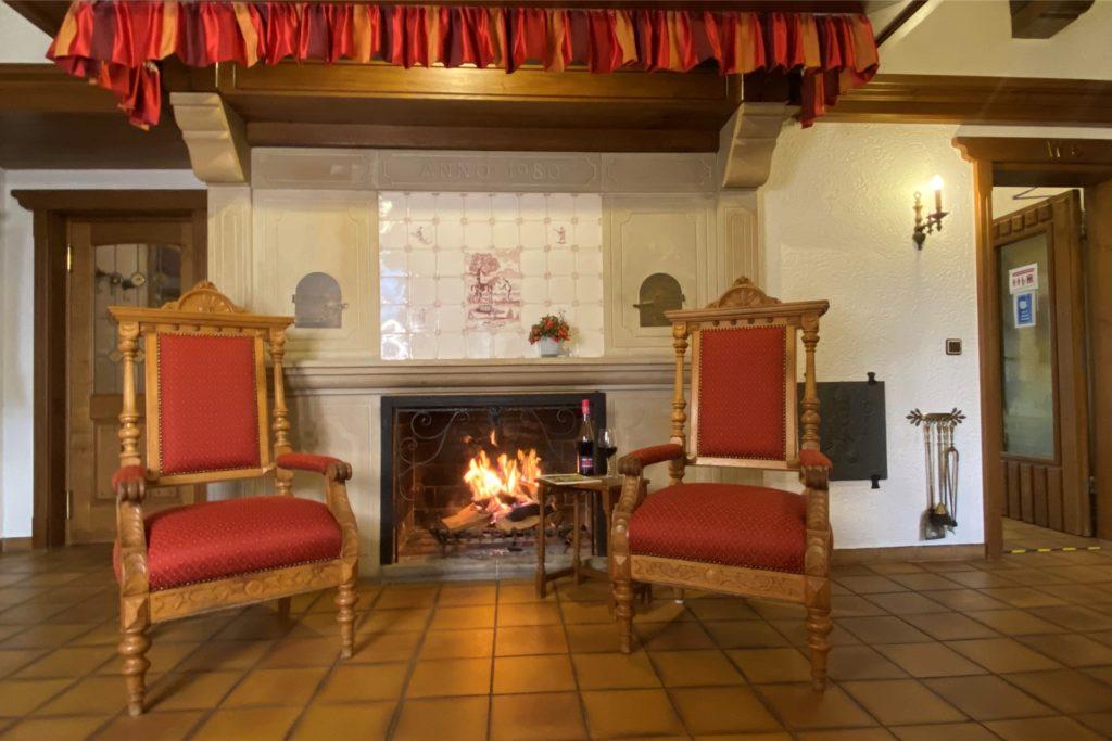 """In den kalten Wintermonaten gehe die Nachfrage von Touristen im Hotel Wolfsjäger auch in """"normalen"""" Jahren zurück."""