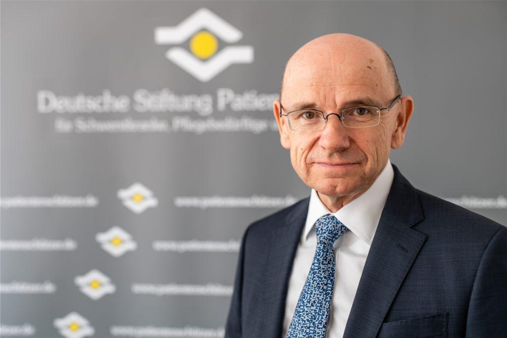 Eugen Brysch ist Vorstandschef der Deutschen Stiftung Patientenschutz.