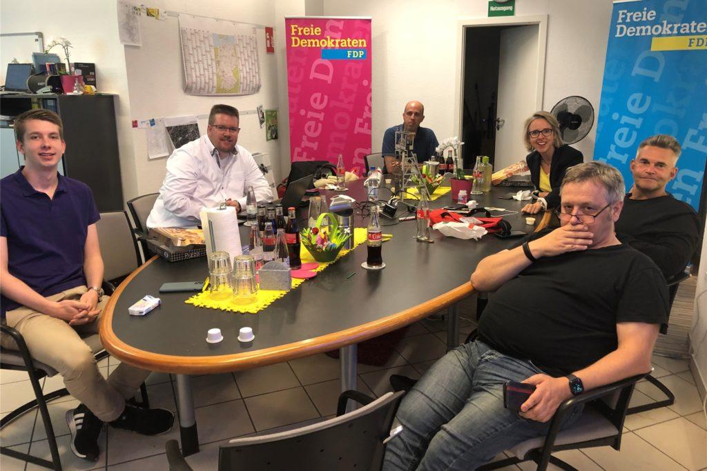 Die FDP etwa hat ihr Fraktionsbüro (hier bei der Kommunalwahl) am Biesenkamp. Dafür erhält sie wie alle Fraktionen einen Mietzuschuss.