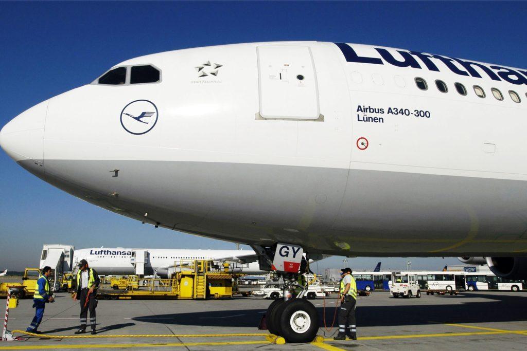 Von 2002 bis 2017 trug ein Lufthansa-Airbus A340-300 den Namen
