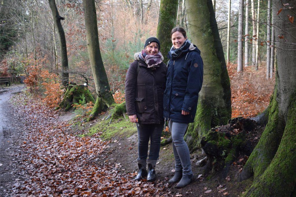 Birgit Klappheck und Silvia Scheithauer dachten sich die erste Schnitzeljagd eigentlich nur für ihre eigenen Kinder zur Beschäftigung in der Corona-Zeit aus, dann wurde das Projekt immer größer.