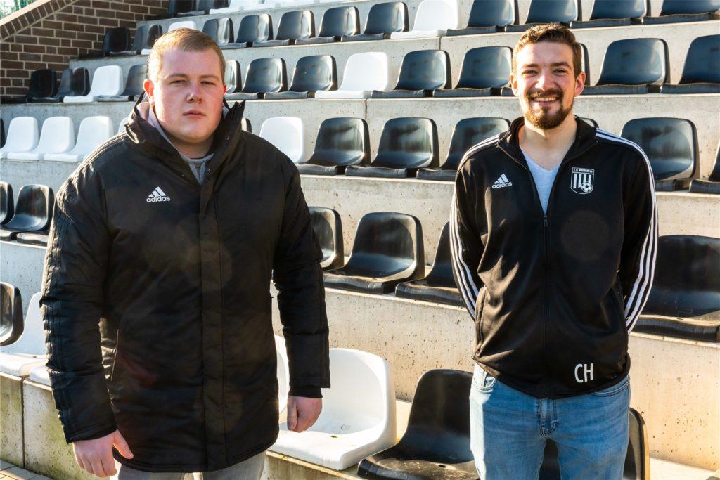 Weiterhin Trainer bei Team III: Roland Könning und Carsten Härter