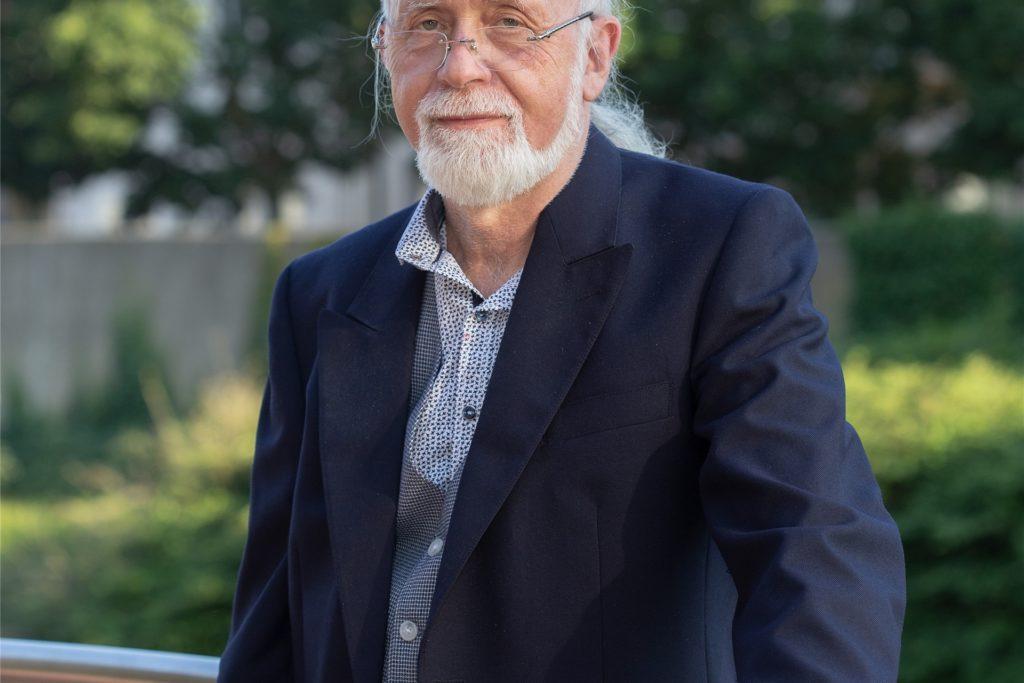 Kunibert Kampmann, Ratsherr für die GFL, fordert eine Kooperationsvereinbarung zwischen Stadt und Bezirksregierung.