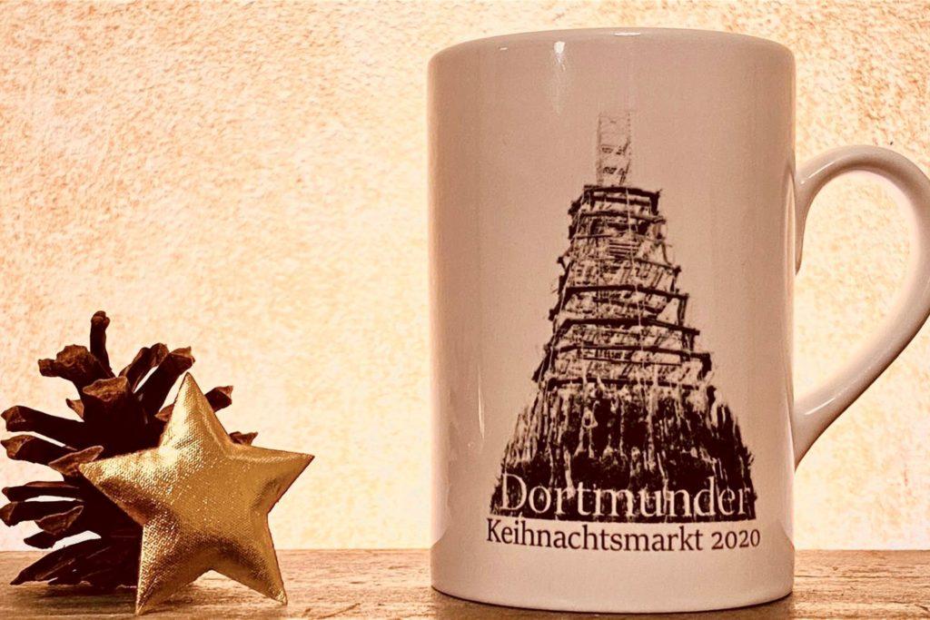 "Die Dortmunder ""Keihnachtsmarkt-Tasse"" 2020"