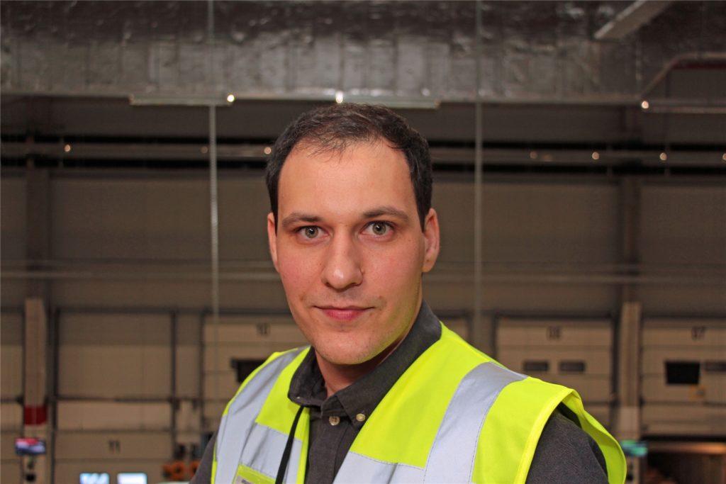 Ivan Saric ist seit 1. April 2019 Standortleiter von Amazon in Werne.