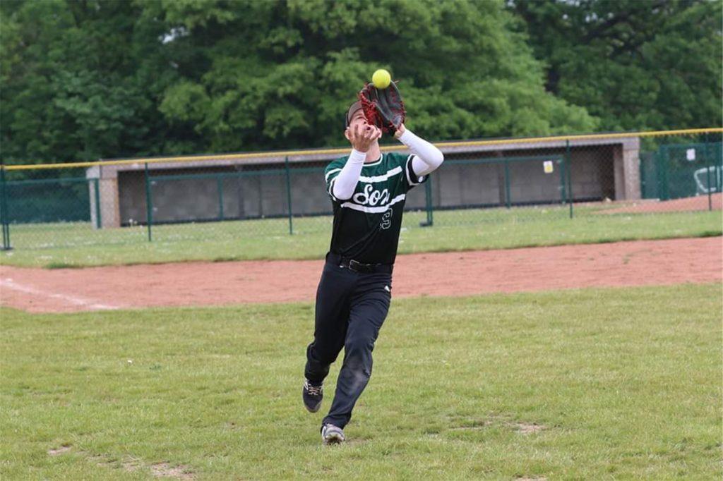 Tom Kupczik spielt auch für die Green Sox in London Softball.