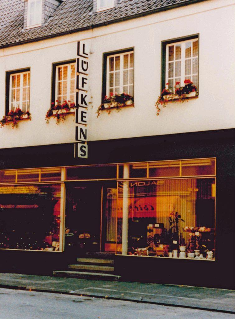 So sah das Haus Lüfkens in der Dufkampstraße in den 1970er-Jahren aus.