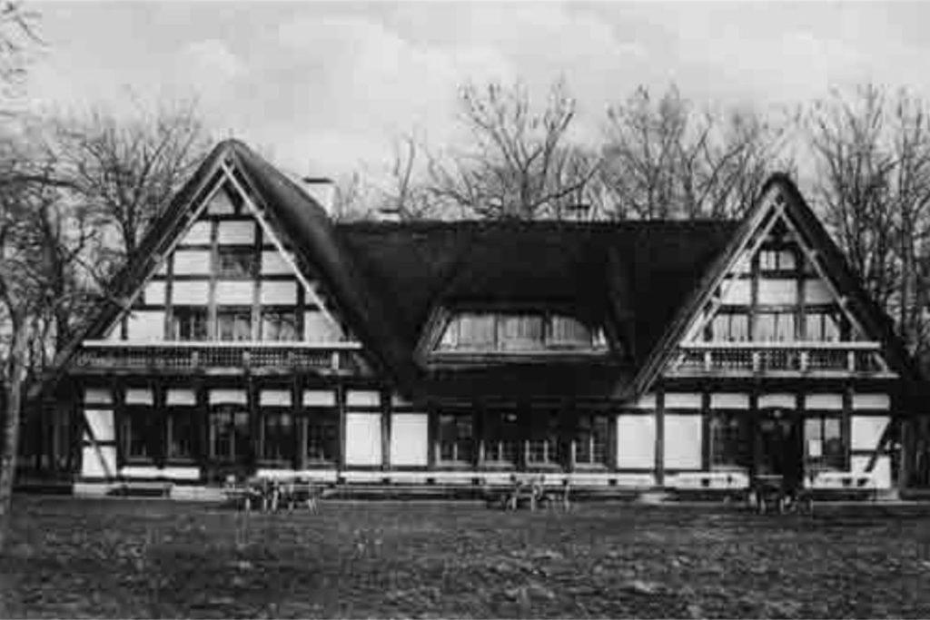 Das Jagdhaus, das Wilhelm Tengelmann errichten ließ, wurde inzwischen abgerissen.