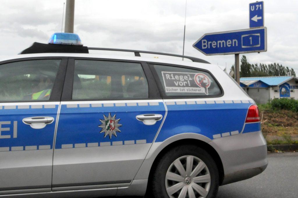 Die Autobahn A1 in Richtung Bremen zwar nach dem Unfall fast zweieinhalb Stunden gesperrt.