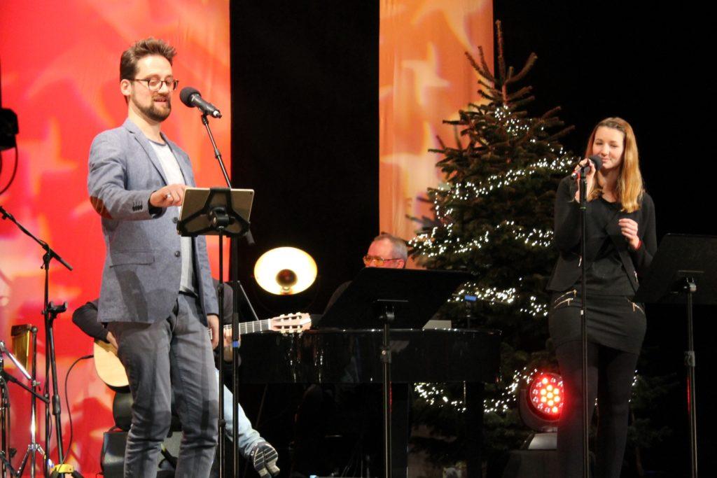 Sänger Salip Tarakci und Sängerin Sarah Kipp