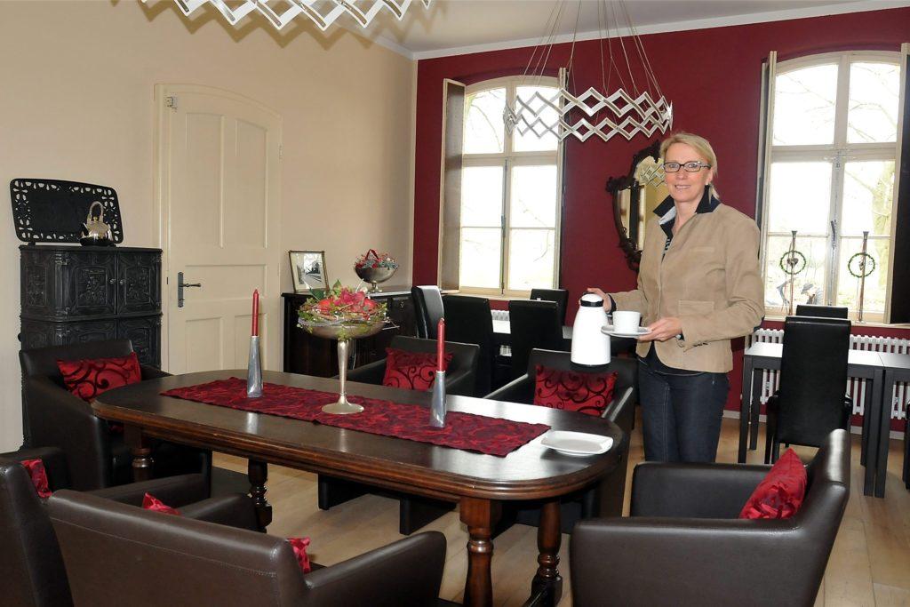 Hiltrud Arentz hat mit viel Geschmack das Café eingerichtet, Andreas Hebestreit wird daran nichts ändern.