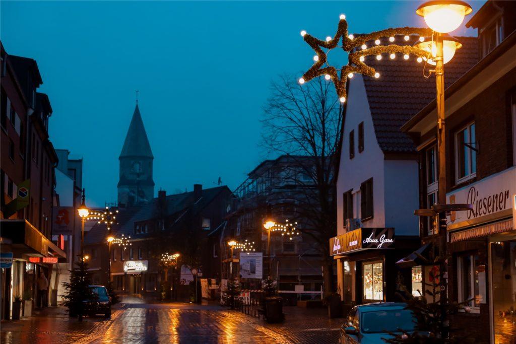 Ab Mittwoch bleiben die Geschäfte im Dorf geschlossen.