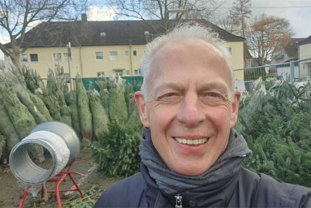 Werner Becker (63) freut sich, dass die Ruhr Nachrichten über den Diebstahl berichten.