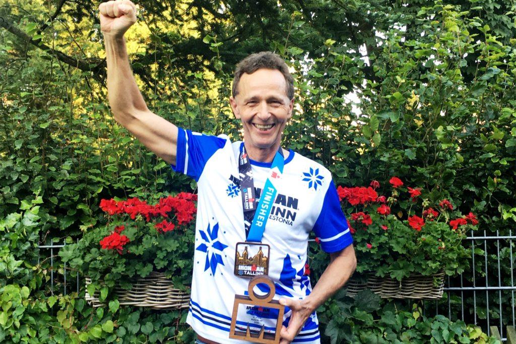 Als Hobby-Triathlet konnte Stephan Petrasch schon einige Erfolge feiern.