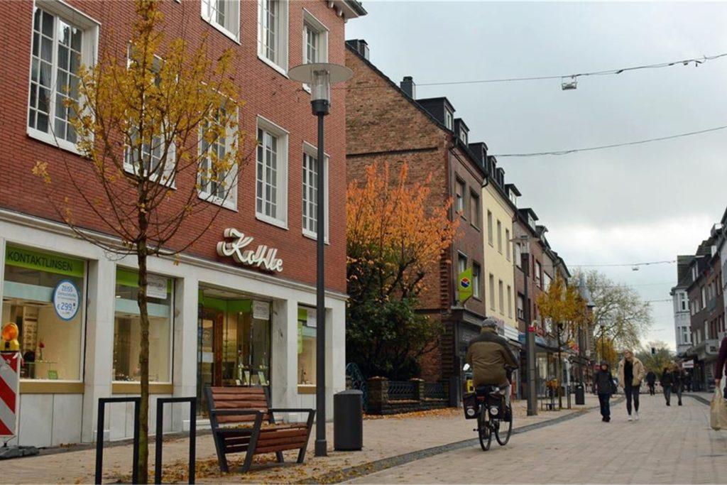 Die Essener Straße nach der Fertigstellung.