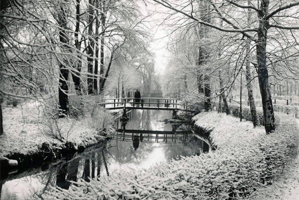 Der Anblick der Horne im verschneiten Werne war in den 1940er Jahren wohl nur ein schwacher Trost für die Bevölkerung.