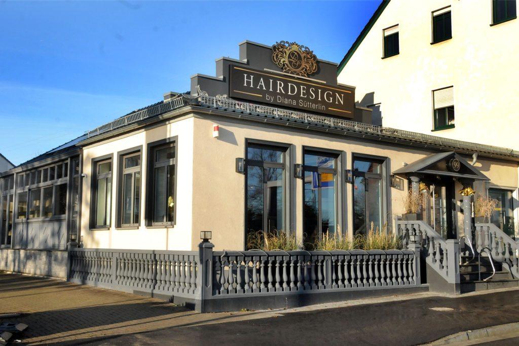 """Viele kennen das Gebäude des Salons """"Hairdesign by Diana Sütterlin"""