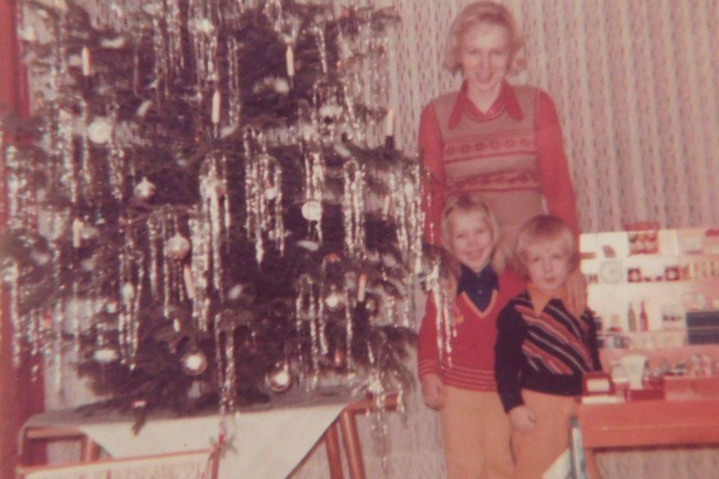 Stephan Mohr (r.) mit Mutter und Schwester in den 1970er-Jahren.