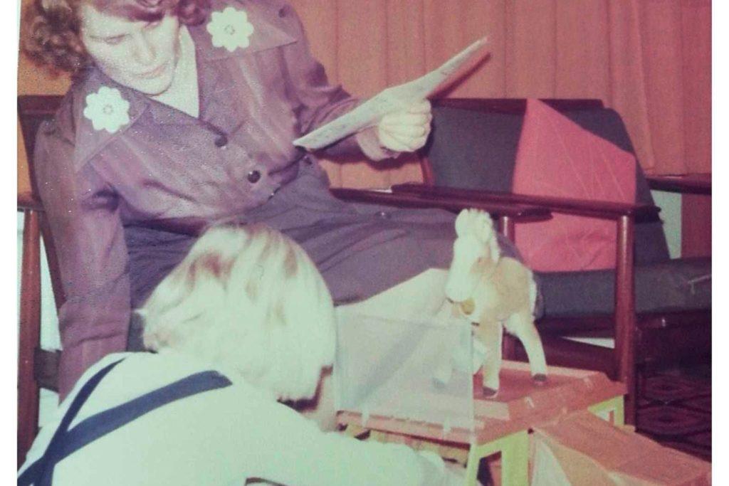 Bescherung 1976 in Cornelia Weßkamps Familie