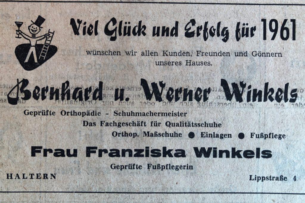 Werbeanzeige von 1960