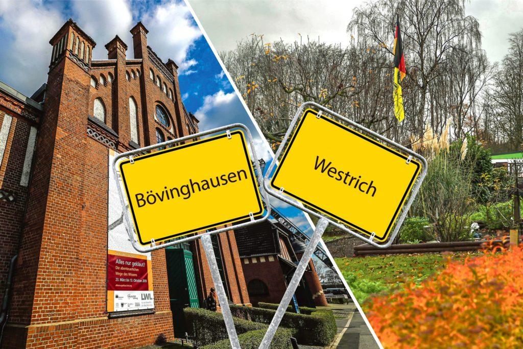 """Die in jeder Hinsicht sehr unterschiedlichen Stadtteile Bövinghausen und Westrich  werden bei der Stadt als ein Sozialraum verwaltet. Gemeinsam werden sie in die Liste der Aktionsräume """"Soziale Stadt Dortmund"""" aufgenommen."""