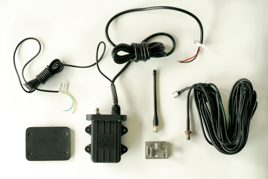 Klein aber oho: Die Menge und Größe der in den Projektfahrzeugen verbauten Technik der Firma Impaqed ist überschaubar - aber die Sensoren liefern mit den erforderlichen Daten eines der Herzstücke für die Forschung.