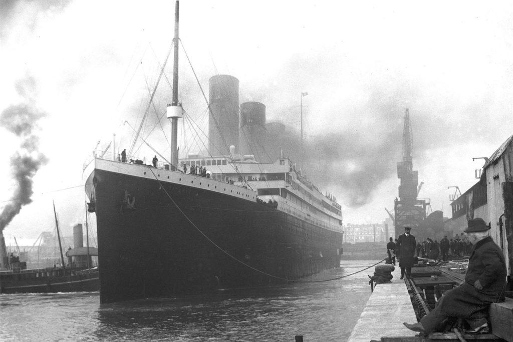10. April 1912 - Die Titanic bricht im Hafen von Southampton zu ihrer Jungfernfahrt auf. An Bord: Anton Abbing, der aus dem Münsterland stammt.