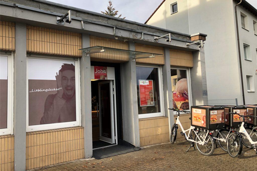 So sieht die Burgerme-Filiale an der Rüschebrinkstraße 16 in Wambel von außen aus